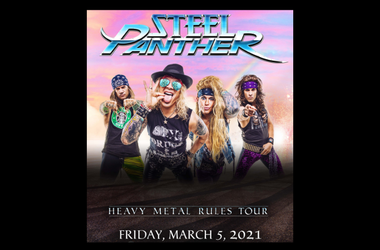 Steel Panther RESCHEDULED