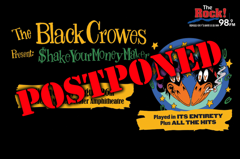 The Black Crowes- Postponed