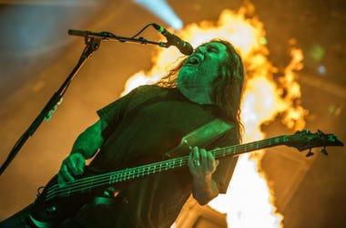 Tom Araya of Slayer