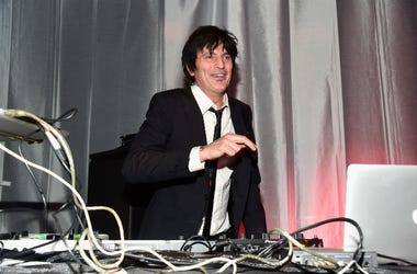 Drummer/DJ Tommy Lee performs onstage during Glazer Palooza and Suits and Sneakers on February 3, 2016