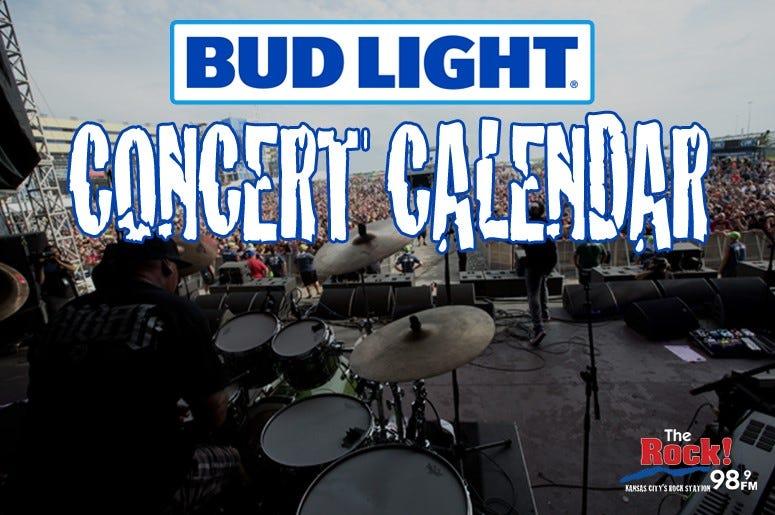 Bud Light Concert Calendar