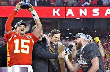 Kansas City Chiefs AFC Champs