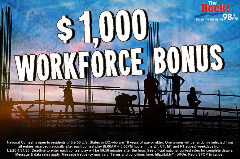 The $1000 Workforce Bonus