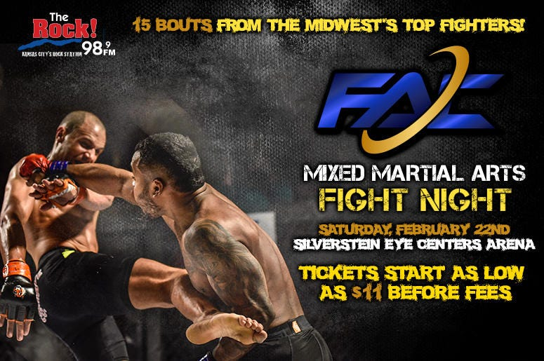 FAC MMA Fight Night