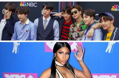 BTS Nicki Minaj