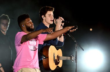 """Shawn Mendes and Khalid perform """"Youth"""" at We Can Survive"""