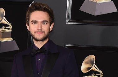 NEW YORK - JANUARY 28: Zedd at the 60th Annual Grammy Awards at Madison Square Garden on January 28, 2018 in New York City.