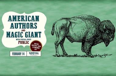 American Authors & Magic Giant