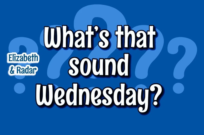 what sound weds er graphic