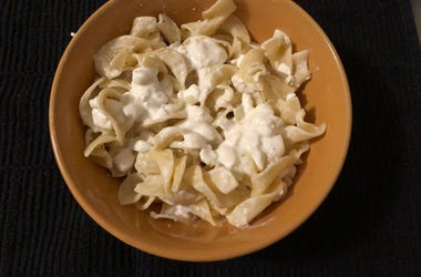 cottage cheese noodles