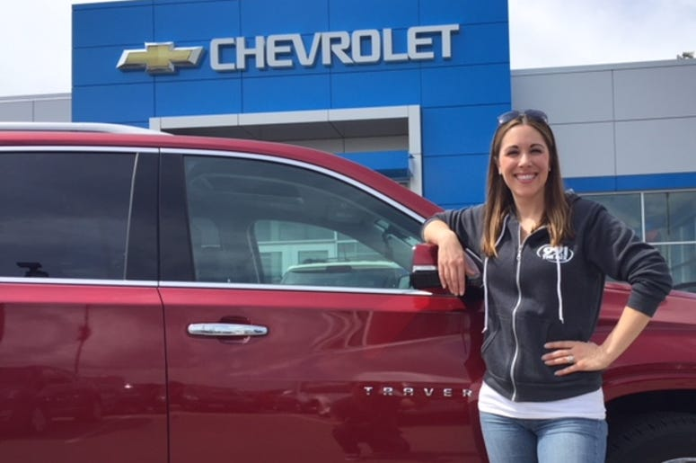 Elizabeth Kay with Chevy