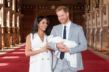 Meghan Markle, Prince Harry with Baby Sussex