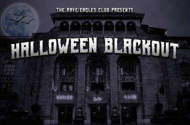 rave halloween blackout