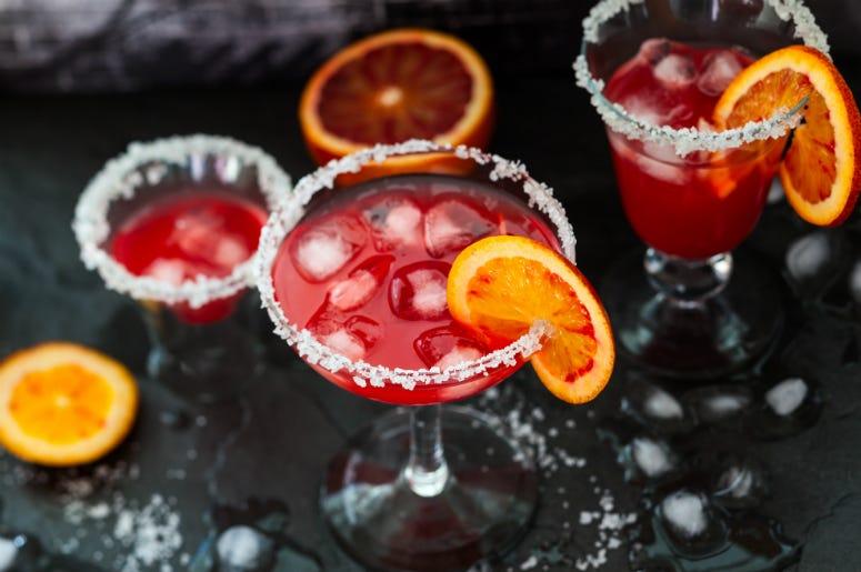 Blood Orange Margarita. Autumn-licious Margarita.