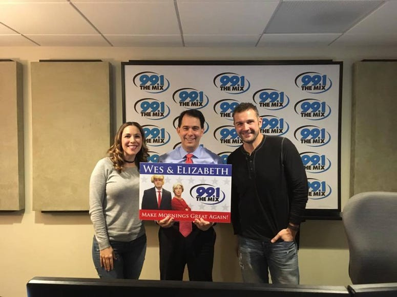 Governor Walker on The Morning Mix