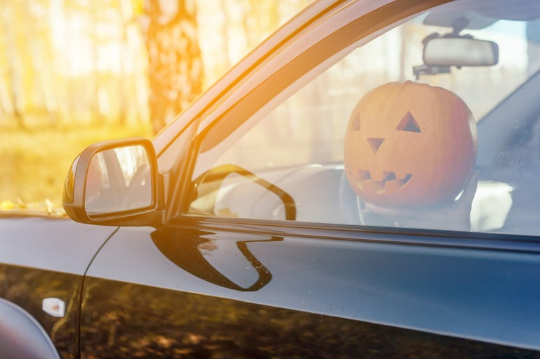 driving pumpkin