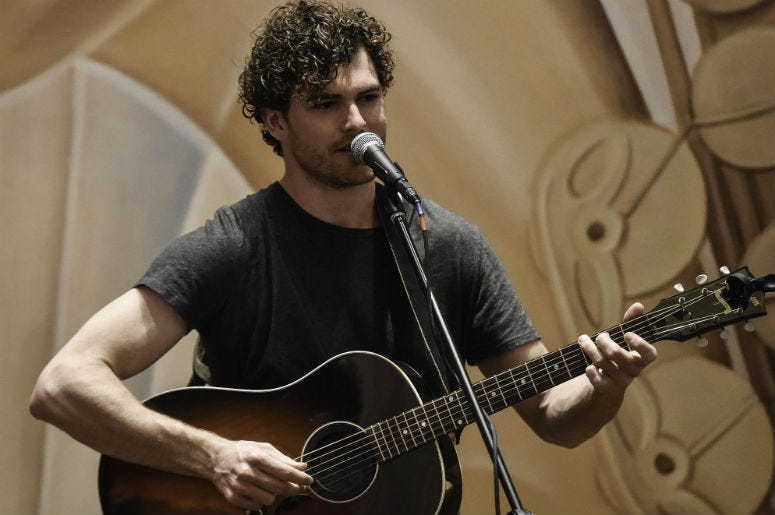 Recording artist Vance Joy performs at the Seminole Hard Rock.