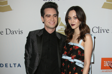 Brendon and Sarah Urie