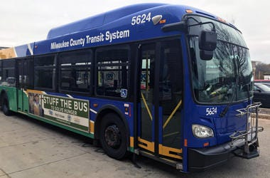 Milwaukee County Transit System Bus