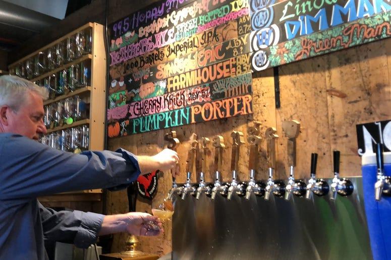 Dave O'Brien's Beer Tasting at Strange Craft Brewery