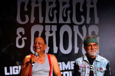 "Richard ""Cheech"" Marin and Tommy Chong"