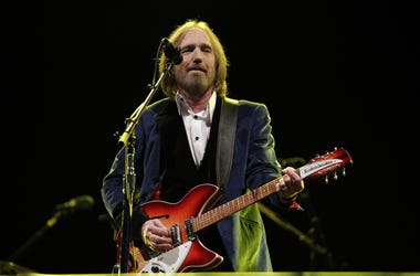 Singer and songwriter Tom Petty