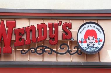 Wendy's fast food restaurant