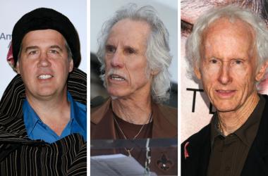 Krist Novoselic of Nirvana and The Doors' Robby Krieger and John Densmore