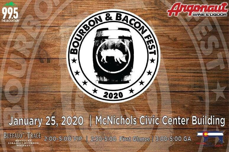 Bacon Festival 2020.Denver Bourbon Bacon Fest 2020 99 5 The Mountain
