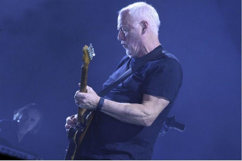 David Gilmour of Pink Floyd