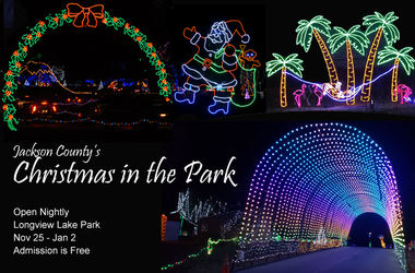 Jackson County's Christmas in the Park