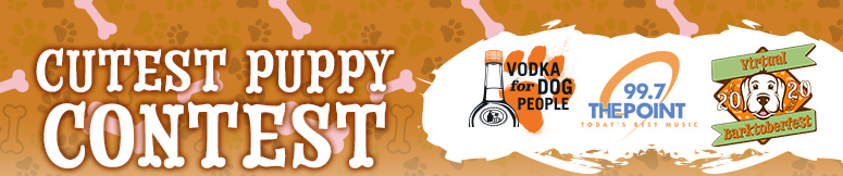 Tito's Cutest Puppy Contest Banner