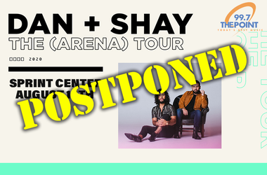Dan+Shay Postponed
