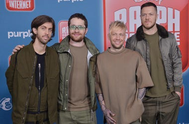 Imagine Dragons - Wayne Sermon, Daniel Platzman, Ben McKee and Dan Reynolds