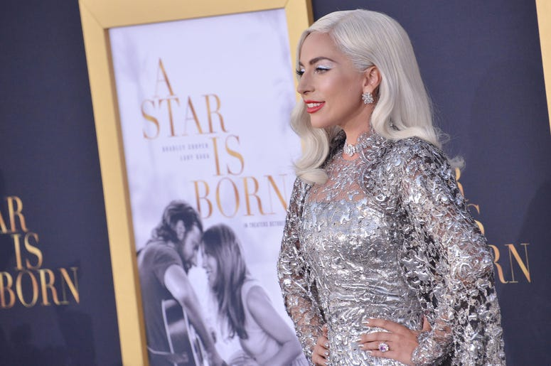 """Lady Gaga arrives at """"A Star Is Born"""" Los Angeles Premiere"""