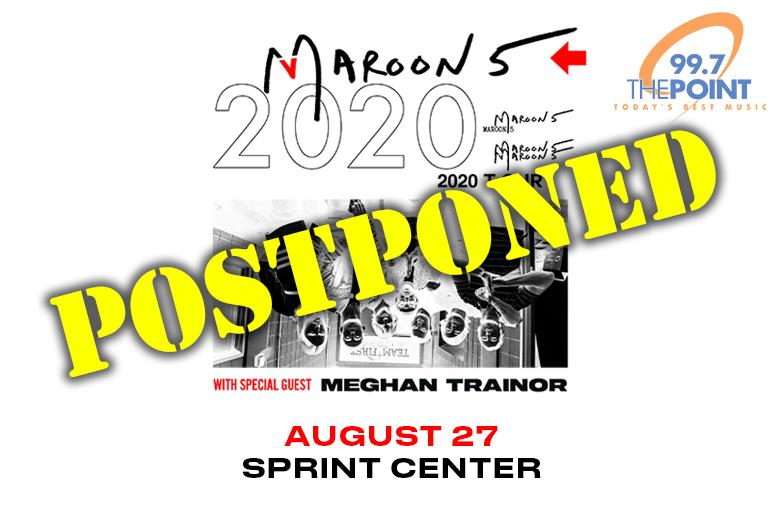 Maroon 5 - Postponed
