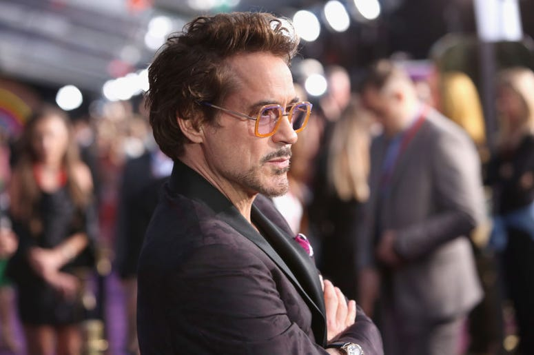 Actor Robert Downey Jr. attends the Los Angeles Global Premiere for Marvel Studios' Avengers: Infinity War on April 23, 2018 in Hollywood, California