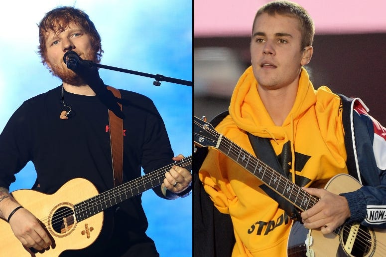"Ed Sheeran x Justin Bieber - ""I Don't Care"""