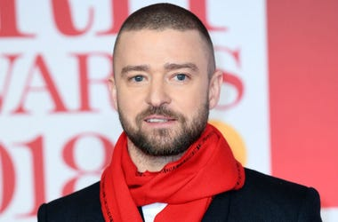 2/22/2018 - Justin Timberlake attending the Brit Awards at the O2 Arena, London.