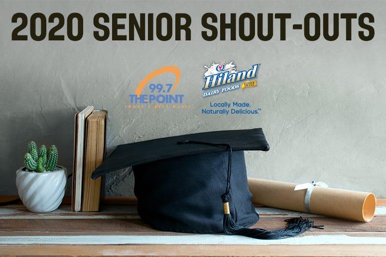 2020 Senior Shout-outs