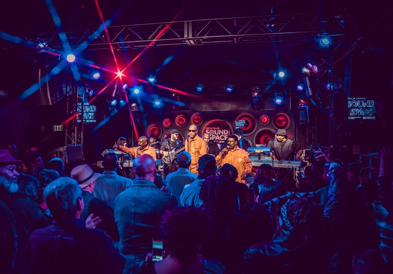 The Whispers At The SoCal Honda Sound Space