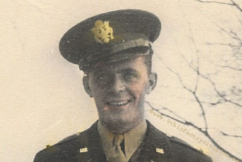JOHN E. BUTTS, SECOND LIEUTENANT, U.S. ARMY, CO. E, 60TH INFANTRY, 9TH INFANTRY DIVISION
