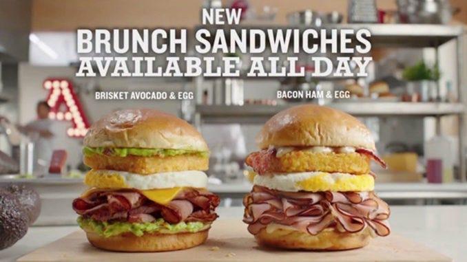 Arby's Brunch Sandwich