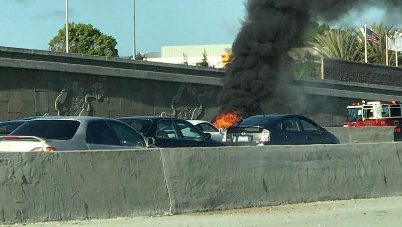 Mountain View Tesla Crash