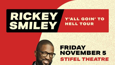 Rickey Smiley Y'all Goin' To Hell Tour