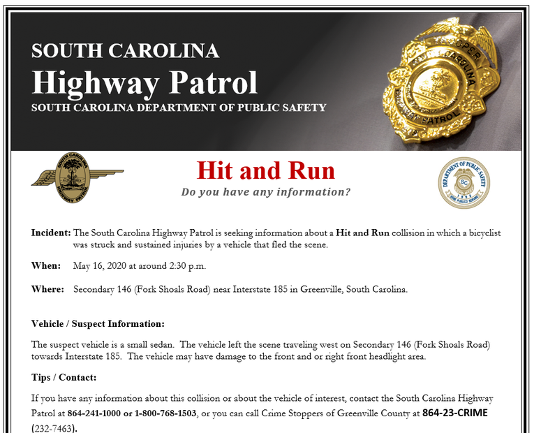 SC Highway Patrol/Dept. of Public Safety