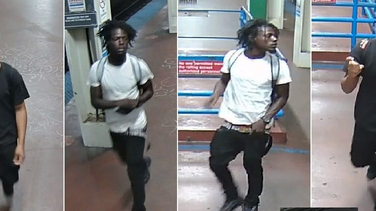 PHOTOS: Suspects in armed robbery on Blue Line train