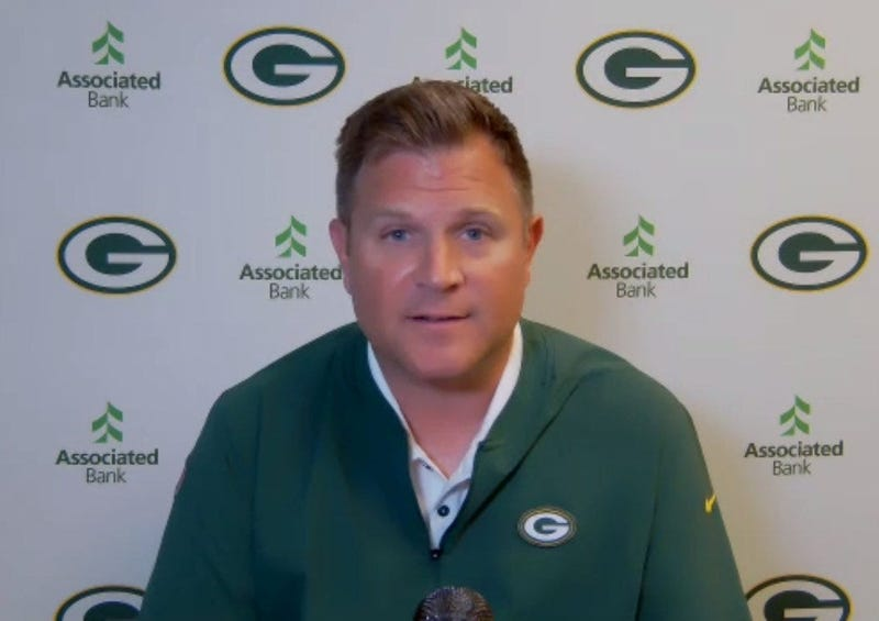 Packers GM Brian Gutenkunst