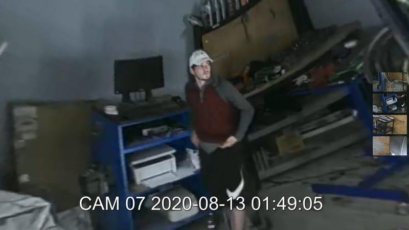 Simpsonville Burglary Suspect
