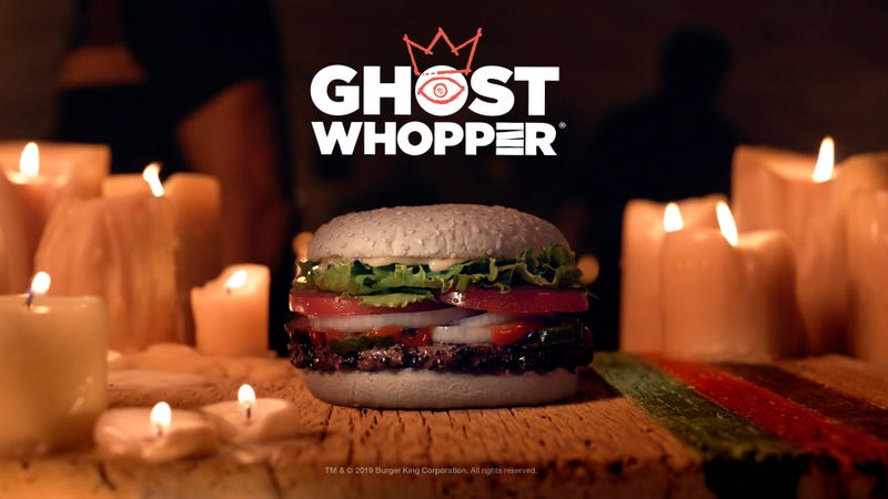Burger King Launches 'Ghost Whopper' For Halloween